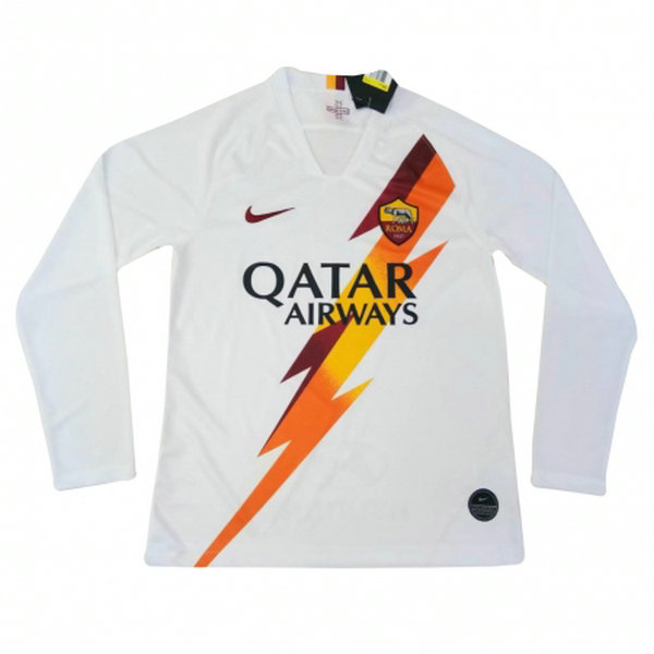Camisetas del As Roma Manga Larga Segunda 2019-2020