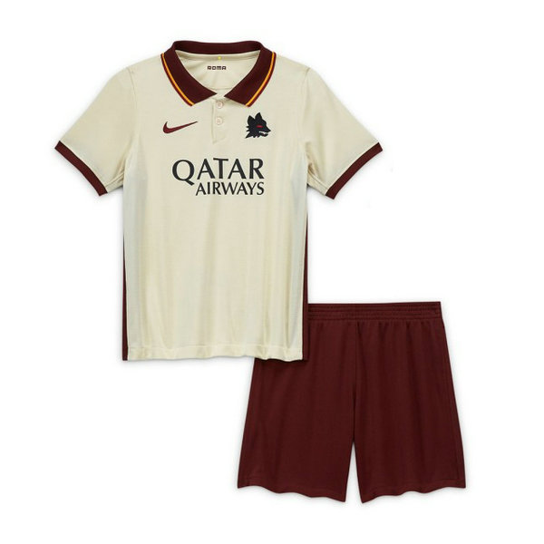 Camisetas del As Roma Ninos Segunda 2020-2021