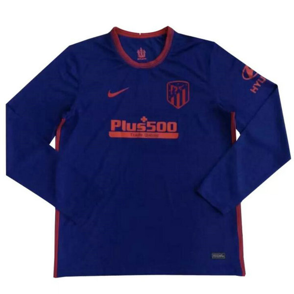 Camisetas del Atletico de Madrid ML Segunda 2020-2021